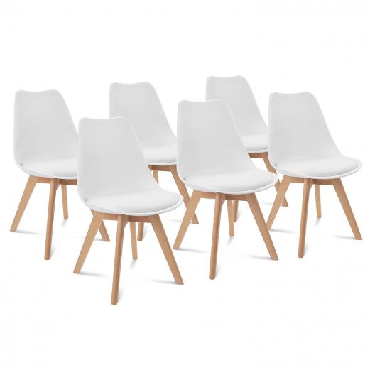 Les atouts de la chaise scandinave blanche